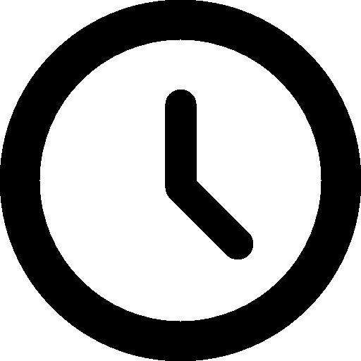 clock circular outline - Лизинг