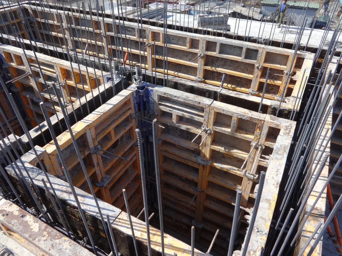 scale 1200 - Опалубка лифтовых шахт